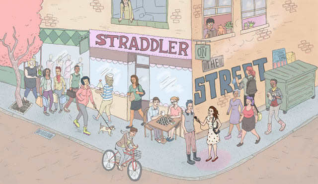 Straddler On The Street