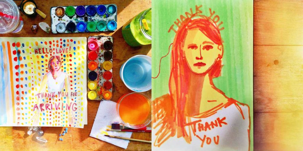 make-art-now-leah-alexandra-goldstein-thank-you