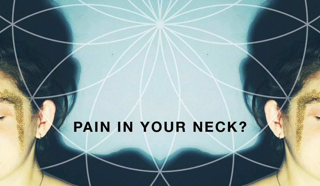 Next time you have neck pain, try this