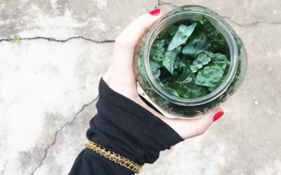 How to keep kale, leafy greens, radishes, carrots, etc. super fresh in the fridge i.e. The Jar Method