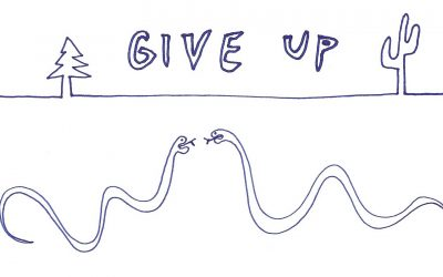 Give Up – a resentments comic